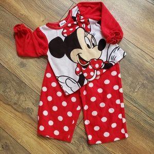 Girls Disney Fleece Jammies 18M